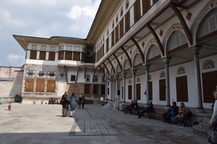 cour harem topkapi istanbul