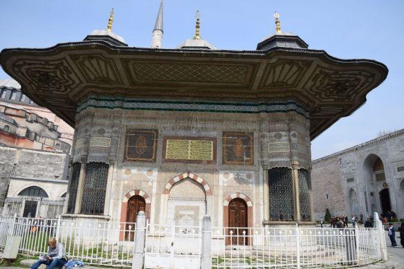 fontaine Ahmet III topkapi Istanbul