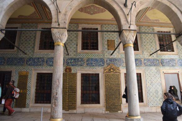 cour des eunuques topkapi istanbul