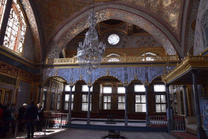 le grand salon harem topkapi istanbul