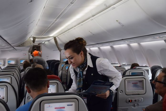 cabine Turkish Airlines