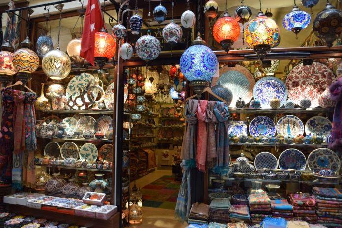 shopping touristes istanbul