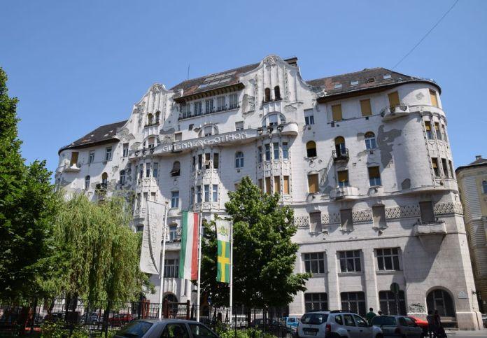 Maison des Imprimeurs joszef Vago Budapest Hongrie Hungary