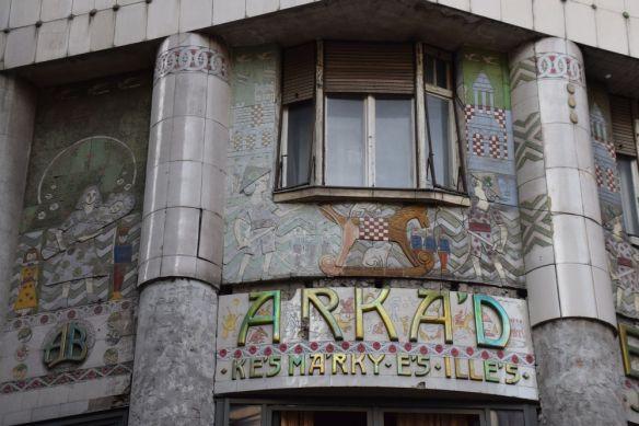 décor Arkad Bazar Budapest