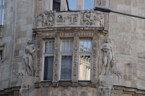 angle arrondi Budapest Hongrie Hungary