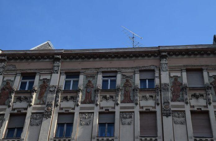 bas relief Budapest Hongrie Hungary
