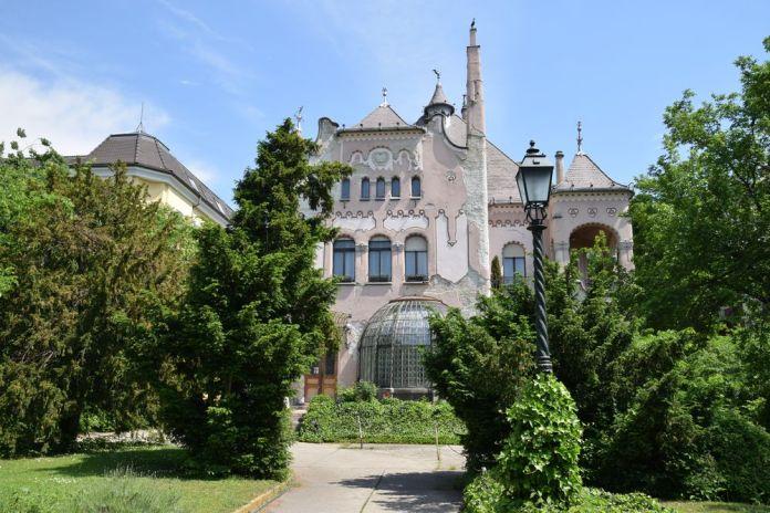Odon lechner fédération hongroise des aveugles Budapest Hongrie Hungary