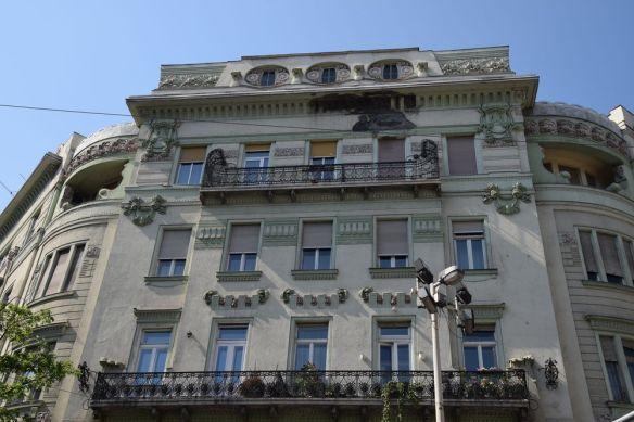 Immeuble d'angle Budapest Hongrie Hungary