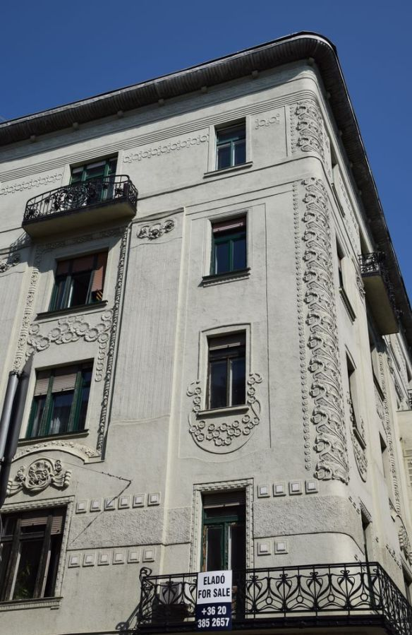 décor Art nouveau Budapest Hongrie Hungary