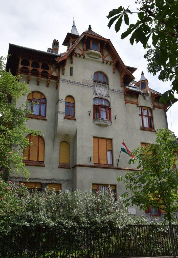 bois villa Budapest Hongrie Hungary