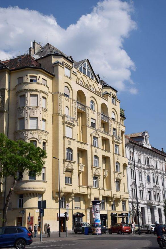 immeuble Budapest Hongrie Hungary