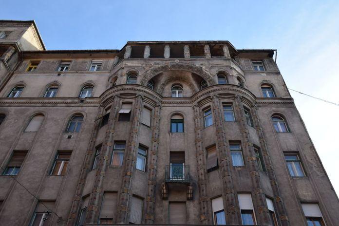 immeuble quartier juif Budapest Hongrie Hungary