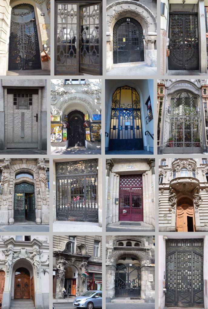 portes Budapest Hongrie Hungary