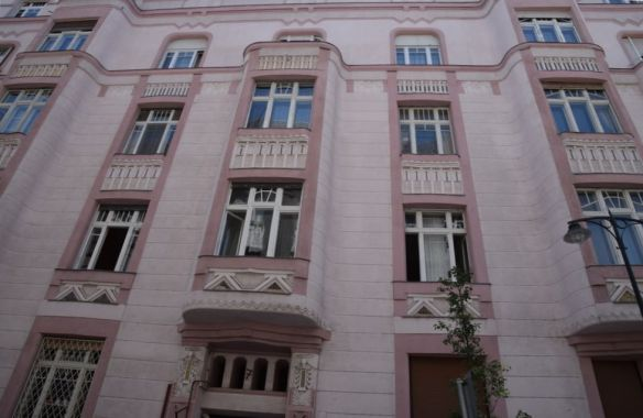 ondulation rose Budapest Hongrie Hungary