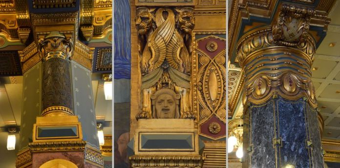 académie Liszt Budapest hongrie Hungary colonnes
