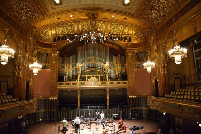 salle spectacle Académie Liszt Budapest Hongrie Hungary