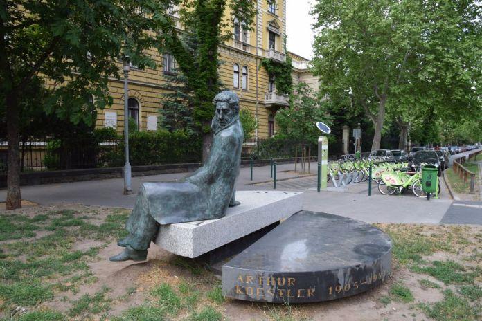 arthur koestler Budapest Hongrie Hungary