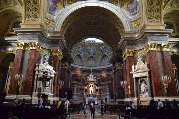 basilique saint-Etienne Budapest Hongrie Hungary