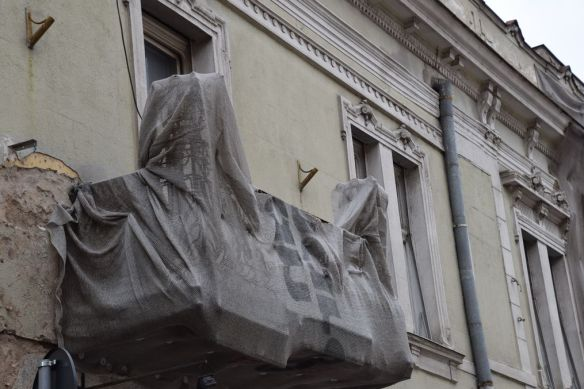 balcon camouflé Oradea Roumanie