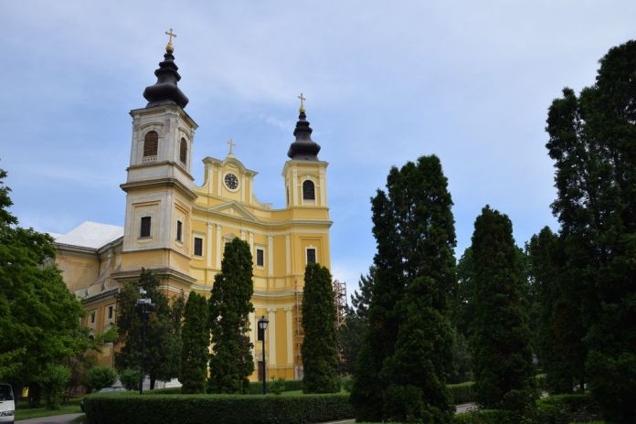 cathédrale catholique Oradea Roumanie