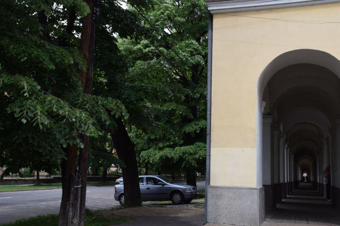 corridor des canons Oradea Roumanie