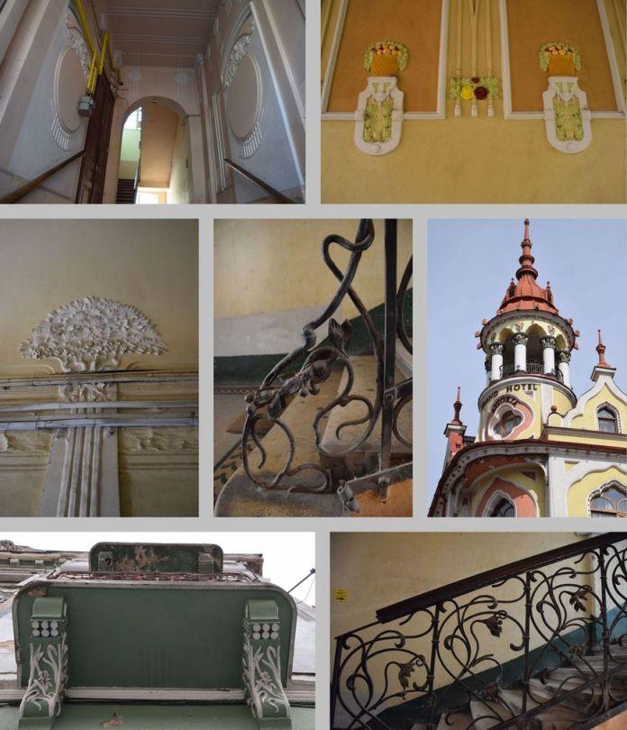 détails architecture Oradea Roumanie