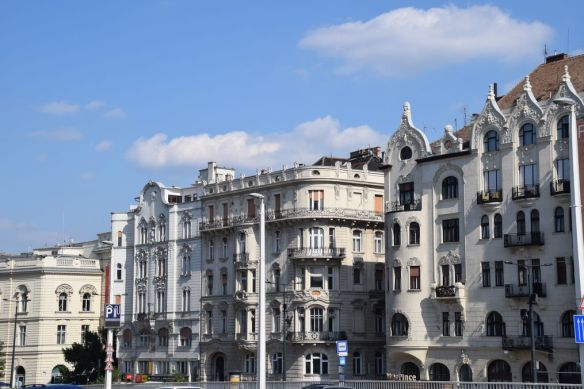 immeubles style Budapest Hongrie Hungary