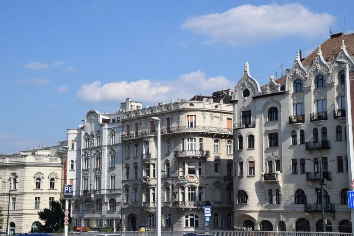 immeubles style Budapest Hongrie Hungary