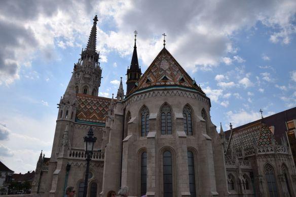 tuiles vernissées église Mathias Budapest Hongrie Hungary