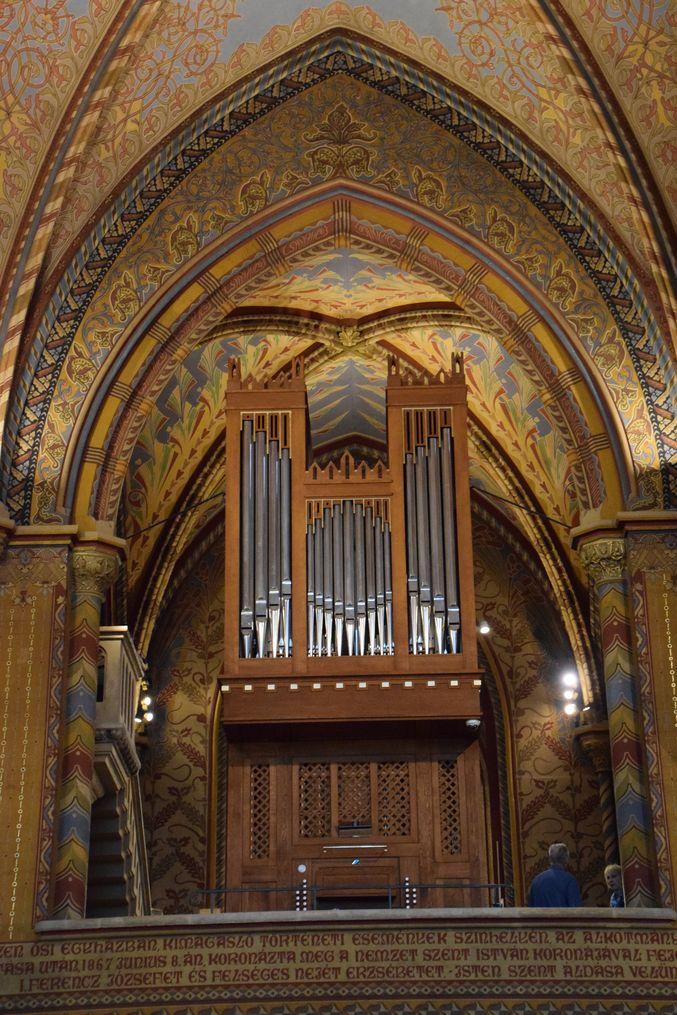 orgue Mathias Budapest Hongrie Hungary