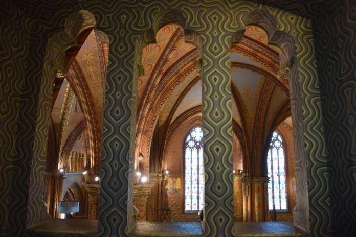 superposition motifs église Mathias Budapest Hongrie Hungary