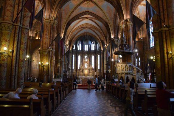 intérieur église Mathias Budapest Hongrie Hungary