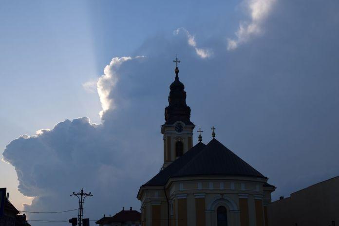 église Oradea Roumanie