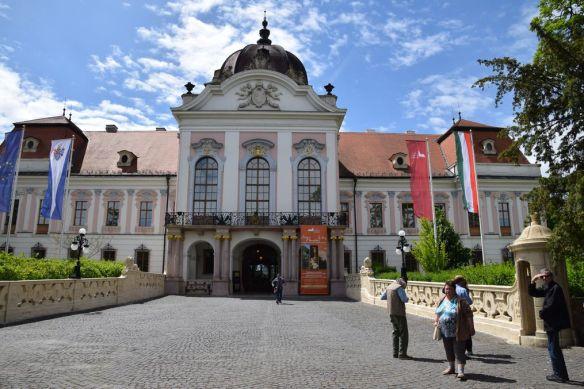 entrée Godollo Hongrie