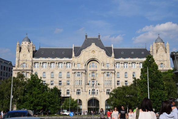 Palais Gresham splendeur Budapest Hongrie Hungary