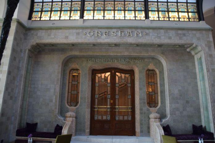 raffinement palais Gresham Four seasons Budapest Hongrie Hungary