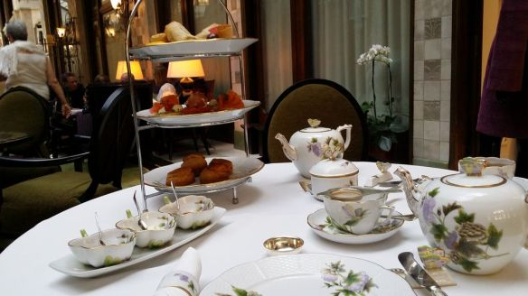 Herend Tea Gresham Four Seasons Budapest