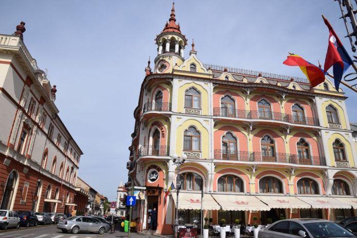 Palais Sztarill, Astoria, Hôtel Transilvania Oradea Roumanie