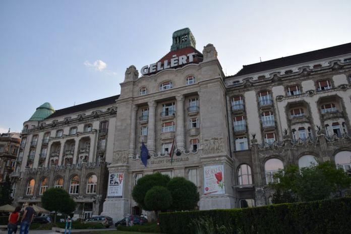 Hôtel Gellert Budapest Hongrie Hungary