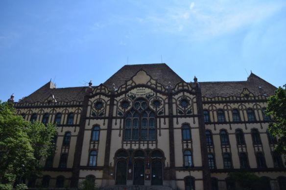 Institut aveugles Budapest Hongrie Hungary