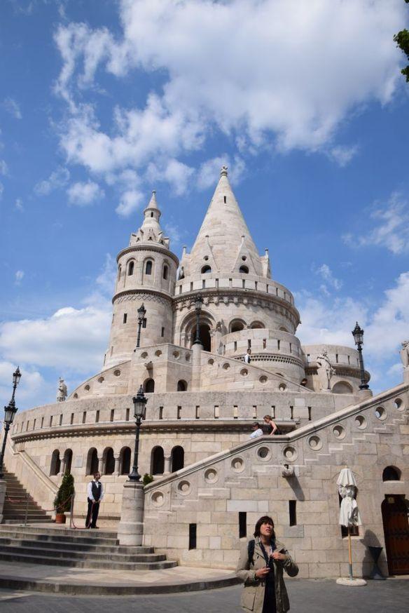 Bastion des Pêcheurs Tourelles Budapest Hongrie Hungary