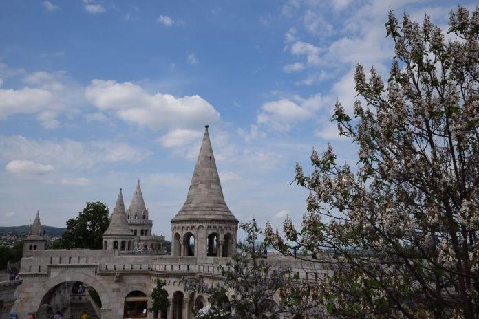 chemin de ronde Bastion des Pêcheurs Budapest Hongrie Hungary