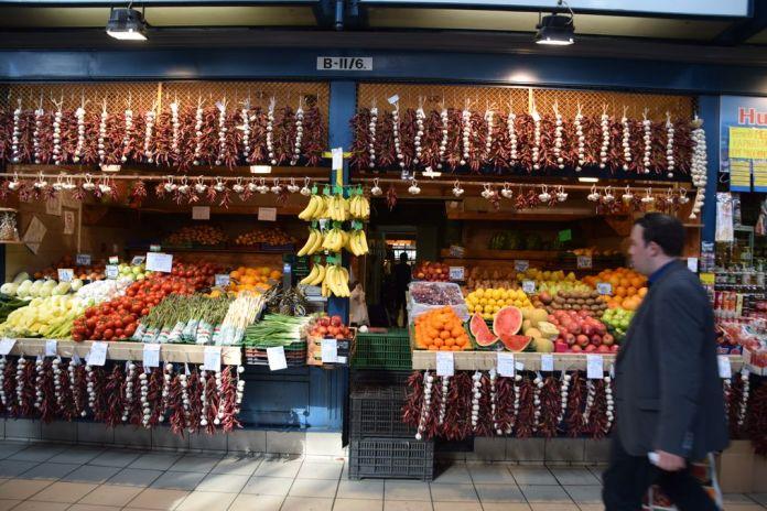 paprika Grand marché Budapest Hongrie Hungary