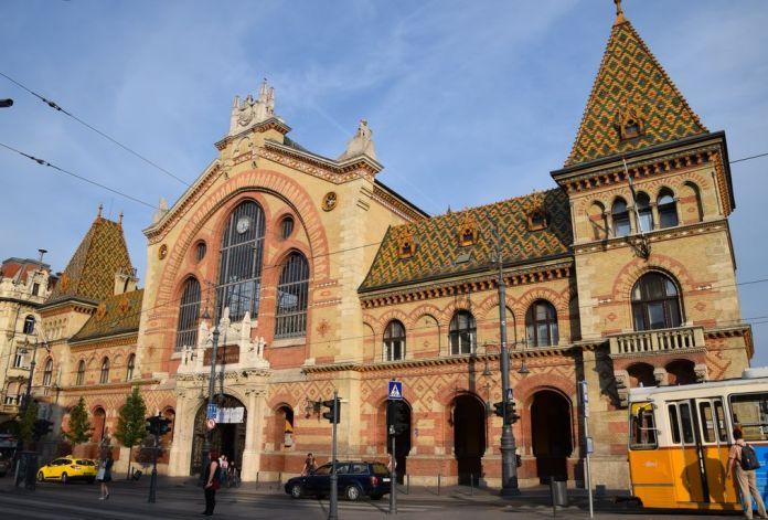grand marché Budapest Hongrie Hungary