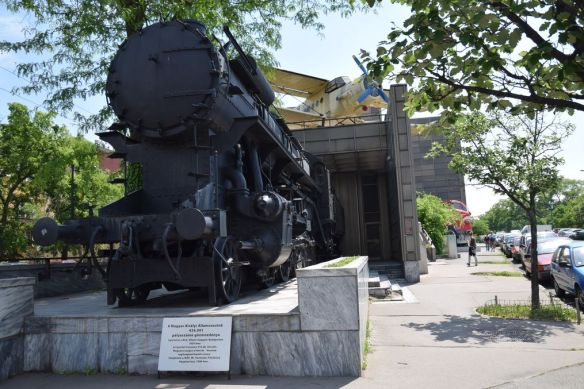 musée des transports Budapest Hongrie Hungary