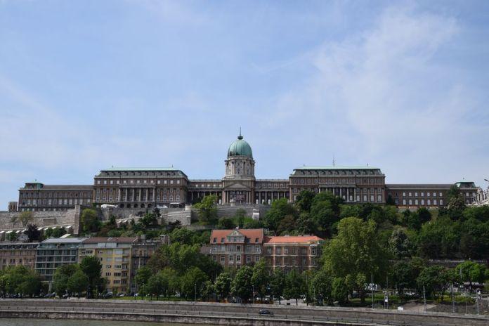 palais Budapest Hongrie Hungary