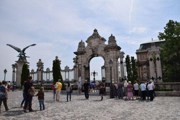 esplanade Palais Budapest Hongrie Hungary