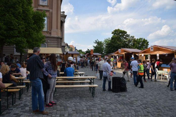 réjouissances Palais Budapest Hongrie Hungary