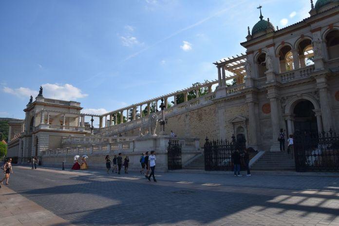 pavillon du jardin royal Budapest Hongrie Hungary