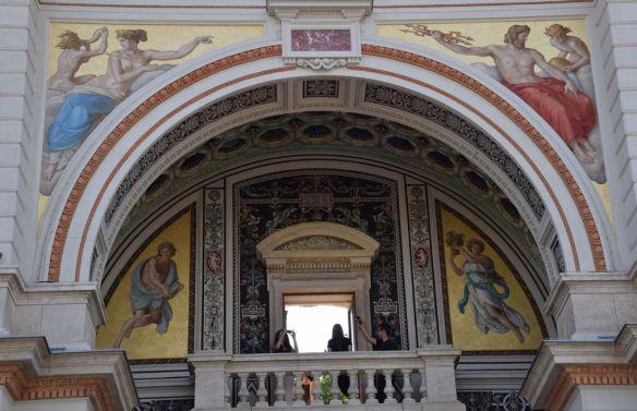 arche pavillon jardin royal Budapest Hongrie Hungary